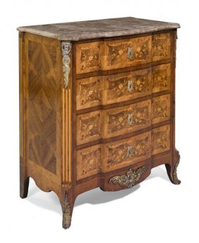 A Good Nineteenth Century Louis Xv Style Kingwood