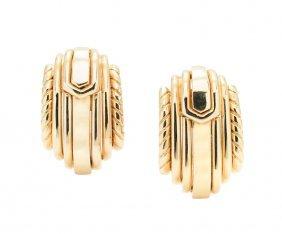 A Pair Of David Webb Earrings