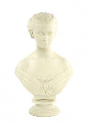 A Copeland Parian Bust Of The Princess Alexandra