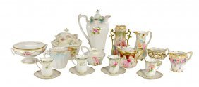 A Collection Of R.s. Prussia Porcelain Table Articles
