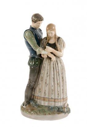 A Royal Copenhagen Porcelain Figural Group