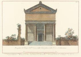 Attributed To Francesco Piranesi, (italian, 1756-1810),