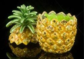 Pineapple Trinket Treasure Box