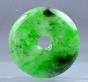 .chinese Certified Top Certified Green Carved Jade