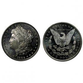 1882 Morgan Dollar - Ms63+ - Proof Like