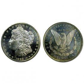 1898 Morgan Dollar - Ms63+ - Proof Like