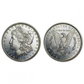1884 Cc Morgan Silver Dollar - Brilliant Uncirculated