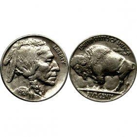 1924 Buffalo Nickel - Au