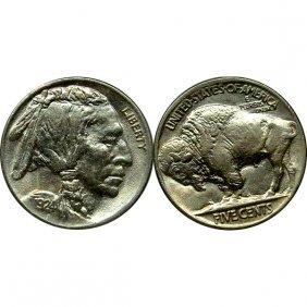 1924 Buffalo Nickel - Bu