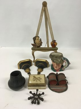 Misc. Collection Incl. Danish Mcm, Royal Doulton Toby,