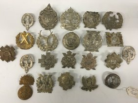 Fine Military Collection Of Pins, Cameron, Sutherland