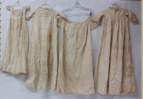 Victorian Children's Christening Gowns, Four