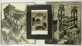 Three Escher Prints