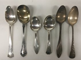 Sterling Silver, Misc. Spoons