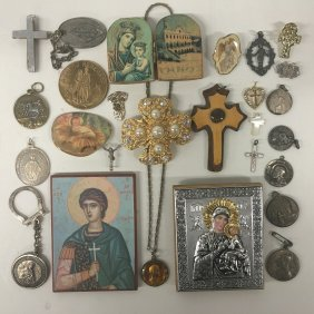 Collection Of Ecclesiastical Jewelry