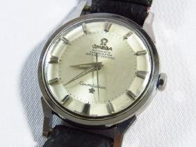 FINE OMEGA CONSTELLATION S/S WRISTWATCH, 1950