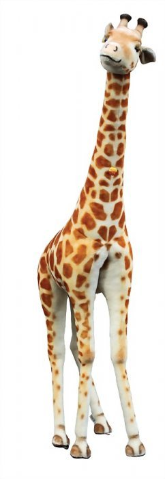 Steiff Studio Animal, Giraffe, 2.52 M, With Button,