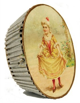 Christmas Tree Decoration, Probably Dresden, Candy