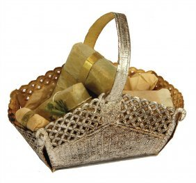 Christmas Tree Decoration, Stamped Paper, Basket With