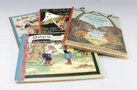 4 Kinderbücher, 1 X Von Sybille Von Olfers, Wä