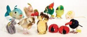 Steiff Konv. 12 Tiere, Guter Zust., Meist Noch Mit
