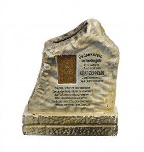 Märklin Spardose, Gedenkstein, Echterdingen,