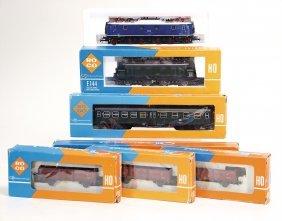 Roco 2 X E-lok, Baureihe 118, E 144, Dazu 2
