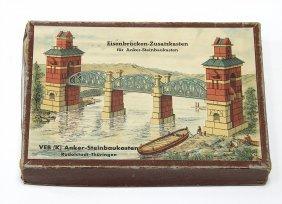 Anker Eisenbahnbrücken-zusatzkasten F. Anker