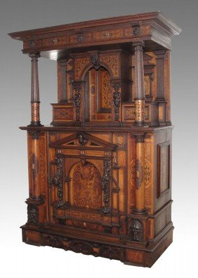 19TH CENTURY GERMAN / AUSTRIAN CUPBOARD