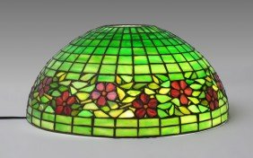 HANDEL CHERRY BLOSSOM LEADED LAMP SHADE