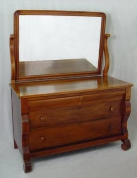 1027 berkey gay mahogany bedroom set sleigh bed lot 1027