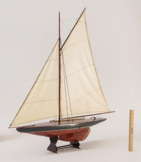 Nice Model Of A Sailboat