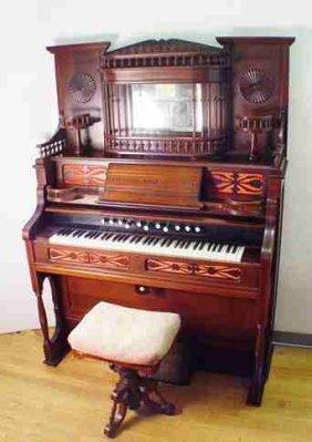 197 Estey Victorian Pump Organ Lot 197