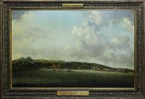 Francis Swaine Oil Painting Attack On Fort Martinique