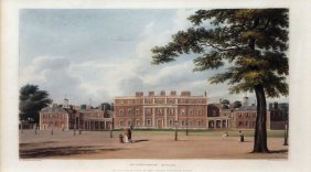 Buckingham House From Pyne's History Of Royal