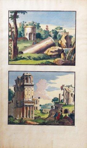 View Of Rome By Joan Blaeu