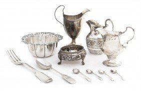 A Collection Of English Silver Articles, Height Of