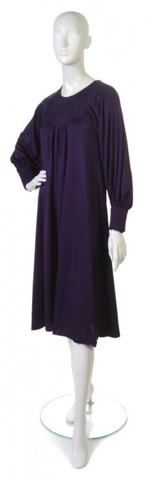 A Monet Purple Jersey Dress.