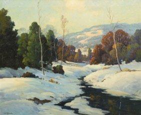 Robert William Wood, (American, 1889-1979), Winter S