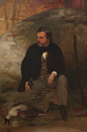 John George Brown, (American, 1831-1913), The Hunte