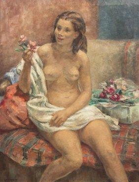 Esther Baldwin Williams, (American, 1907-1969), Nud