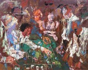 LeRoy Neiman, (American, B. 1927), Vegas, 1961