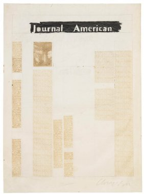 Chryssa, (American/Greek, B. 1933), Journal Americ