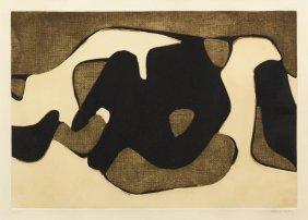 Conrad Marca-Relli, (American, 1913-2000), Black,