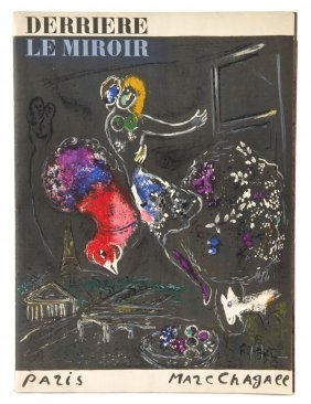 375 chagall marc derriere le miroir 66 67 68 paris for Maeght derriere le miroir