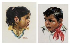 Bettina Steinke, (American, 1913-1999), Indian Girl