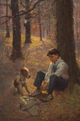 Fletcher C. Ransom, (American, 1870-1943), Two Boys