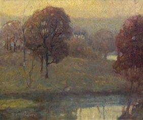 American School, (20th Century), Autumn