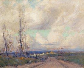 Emile Albert Gruppe, (American, 1896-1978), Cloudy