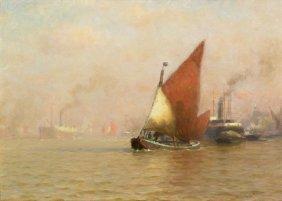 William Edward Norton, (American, 1843-1916), On Th